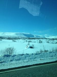 Fra Trondheim tok vi veien over Strynefjell til Hotel Alexandra i Loen :)