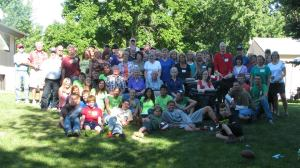 The whole Lerol/Lerhol family at the family reunion :-)