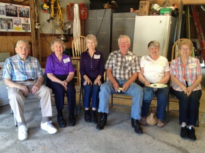 These are my grand dad`s first cousins and their husbands and wifes :-)