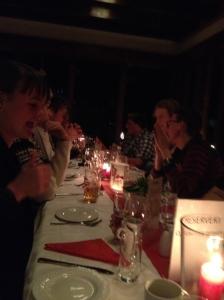Dagen etter Thanksgiving var det julebord på Biri med Oppland Senterparti. Helt superuoffisielt Senterpartiets beste fylkeslag!