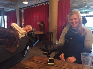 På hipsterbar i Oslo